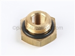 Embassy 60101119 Brass threaded bushing 3/8 in.  Male to 1/8 in.  NPT Female