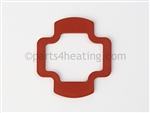 Embassy Onex 160 and Smith GC160 60703030 Gasket, Silicon Manifold for Combusion Fan