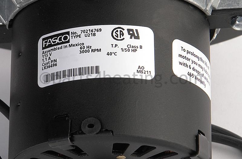 Fasco 70216769 Fan Blower