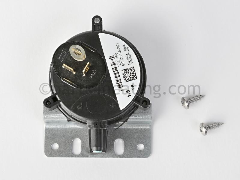 HTP Munchkin T80MRZ, 9370DD-HS-0001 7250P-150 Blocked Vent Pressure ...