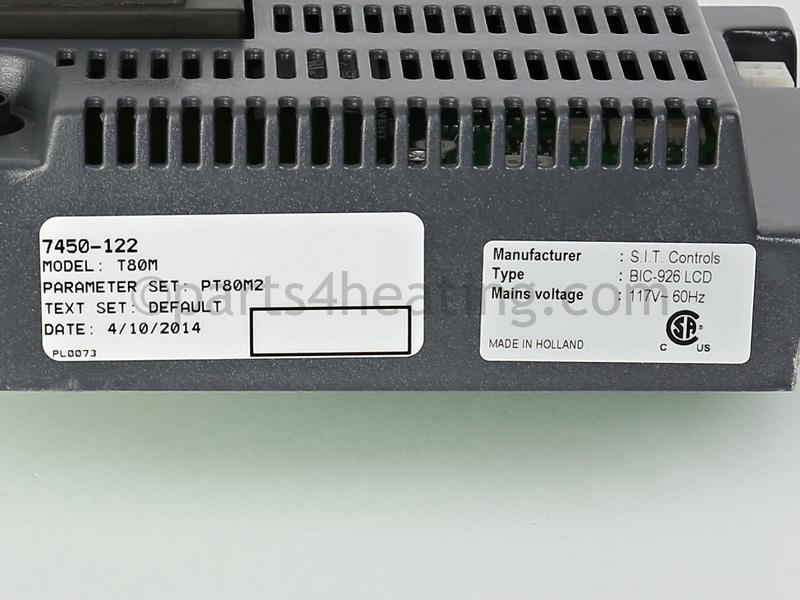 HTP Munchkin T80MR2, 7250P-731-T80MR2 Revision 2 Control ...