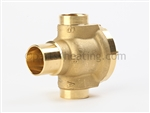 NTI 82160 3 Way Valve VU54S2016B, 3/4 in. Combi (T/Ti), M100(V)
