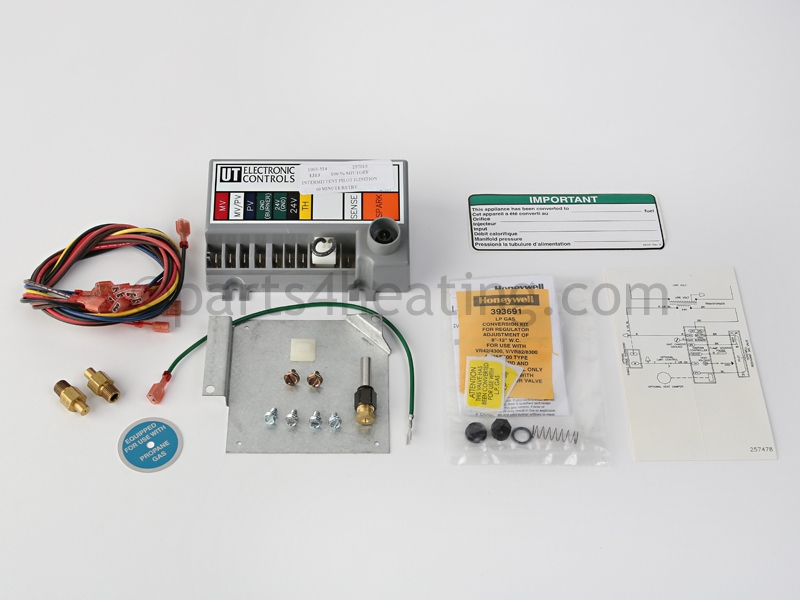 Reznor F25,FE25,B25,BE25, AH2, 0 99249 Gas Conversion Kit, Natural on
