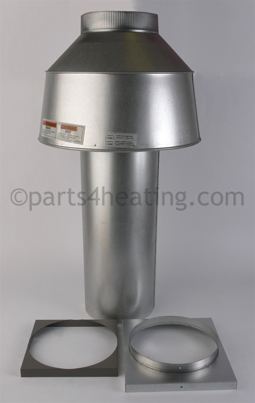 Parts4heating hayward dhi400 indoor draft hood 9 larger photo sciox Choice Image