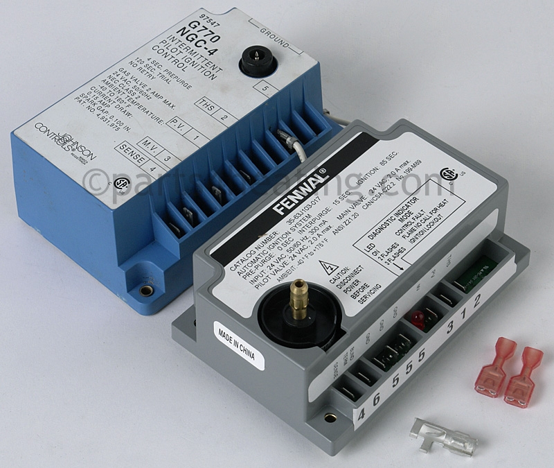 Johnson Controls G770NGC-4 Ignition Control Module, Fenwal direct  replacement 63, 65, 84