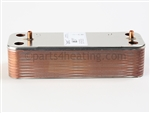 Laars LM-5652190 Heat Exchanger, DHW, 22 Plates, (ALfa Laval)