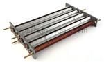 R0018104 pool heater heat exchanger tube assembly