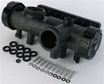 Teledyne Laars R0453600 Front Header, with hardware and gaskets
