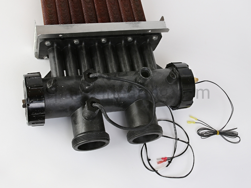 Parts4heating Com Jandy R0470610 Heat Exchanger Assembly