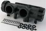 Zodiac R0470800 Inlet/Outlet Header Assy. Polymer, Model All