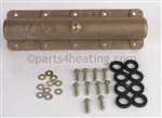 Jandy R0476700 Return Header Assy, Bronze (includes set of 9 gaskets)