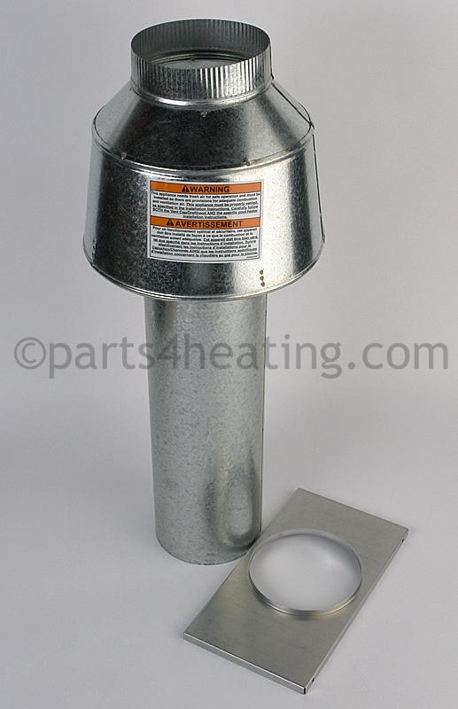 Parts4heating jandy r0499602 indoor draft hood 6 175 pool larger photo sciox Choice Image
