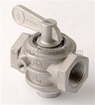 "LAARS V0004200 Gas Valve, Manual, 1"", Natural Gas 500-715, LP 1010-1200"