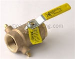 "LAARS V0004300 Gas Valve, Manual, 1-1/4"", Natural Gas 850-1825, LP 1430-1825"