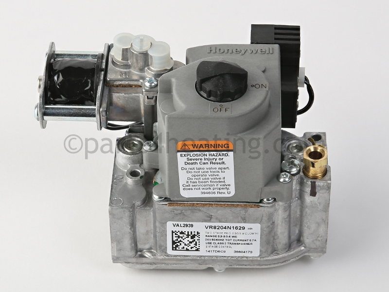 Honeywell Vr8204n1629 Gas Valve 2 Stage Natural Gas