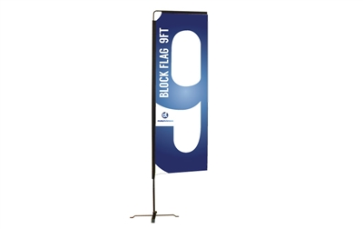 Block Flag - S 9FT