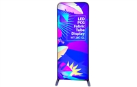 "36x90"" LED Janus Tension Fabric Display graphic package.  Easy-to-transport, fast turn around time, quick shipping, great price."