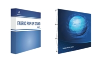 8x8ft Straight Fabric PopUp Stand