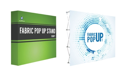 10x8ft Straight Fabric PopUp Stand