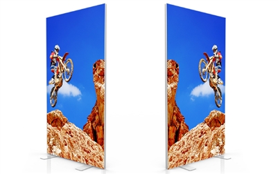SEG System -D40- 4x8ft - Double side graphic package