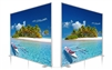 SEG System -D80- 10x8ft - Double side graphic package
