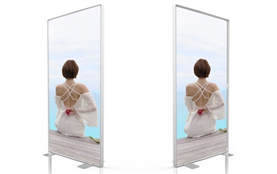SEG System -D80- 4x8ft - Double side graphic package