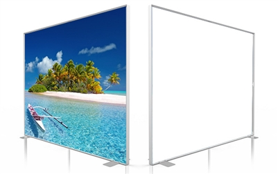SEG System -D80- 10x8ft - Single side graphic package