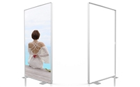 SEG System -D80- 4x8ft - Single side graphic package