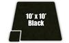 Soft Carpet Black 10x10ft