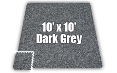 Soft Carpet Dark Grey 10x10ft