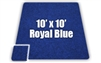 Soft Carpet Royal Blue 10x10ft