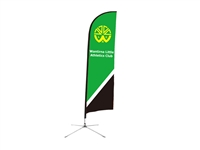 "Wind Resistant Feather Flag 11ft ""Preorder only"""