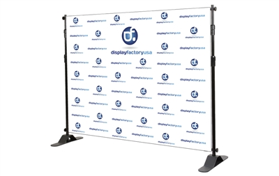 Adjustable Banner Stand 10x8ft