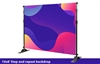Adjustable Banner Stand 10x8 Graphic ONLY