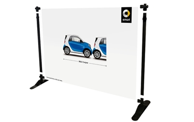 Adjustable Banner Stand 10x10ft