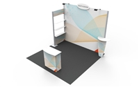 B33109 Linear Booth 10x10 ft - Full Package
