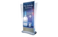 Outdoor Retractable Banner Stand, Double-Sided