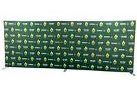 20ft Tension Fabric Display - Straight (Hardware Only)