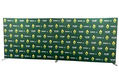 20ft Straight Tube display with single side full color graphic package.  Easy-to-transport and totally tool-less. Fast turn around time, quick shipping, great price.
