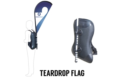 Teardrop Backpack Banner