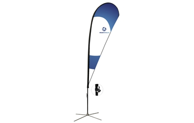 Teardrop Flag Kit - L 14ft
