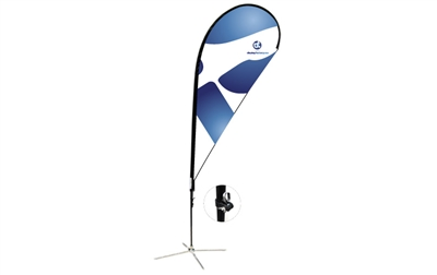 Teardrop Flag Kit - M 11ft