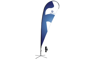 Teardrop Flag Kit - XL 16.5ft