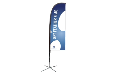 Feather Flag Kit - XS 8ft