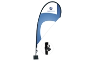 Teardrop Flag Kit - XS 6.5ft