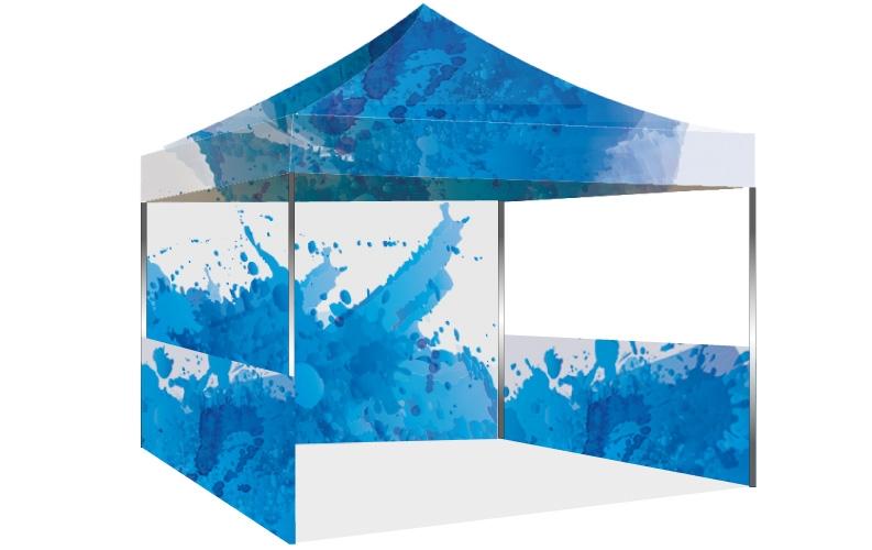Larger Photo  sc 1 st  Display Factory USA & Display Factory USA: 10x10ft Hexagon Aluminum Tent - Custom ...