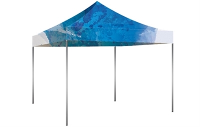Aluminum Hex Pop Up tent 10x10ft