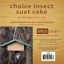 Insect Suet Cake