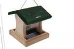 1.5 Quart 2-Sided Hopper, Green, Hanging