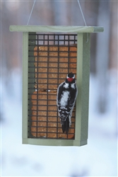 Recycled Double Suet Feeder